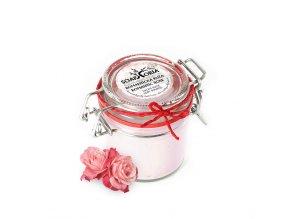 Přírodní tělové suflé - Romantická růže