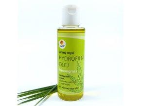 Hydrofilní olej konopný Lemongrass