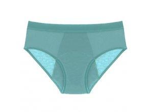 Pinke Welle Menstruační kalhotky tyrkysové - střední a slabá menstruace  tyrkysové