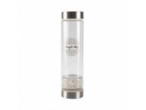 Designová skleněná láhev
