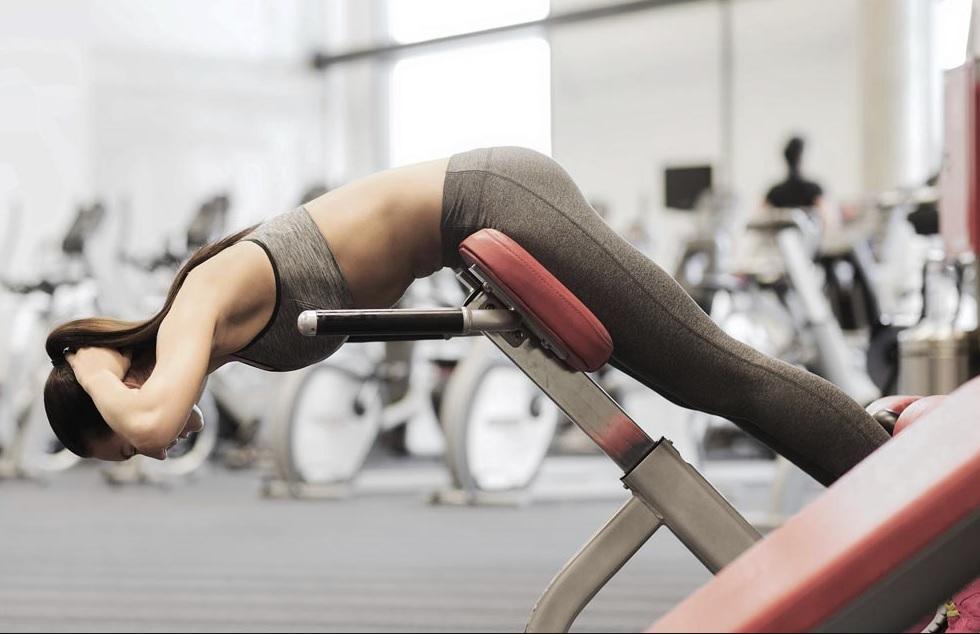 Cviky na spodné svaly chrbta