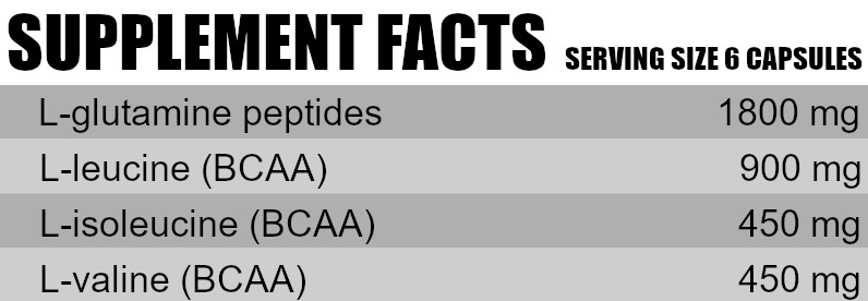 G-BCAA supplements facts