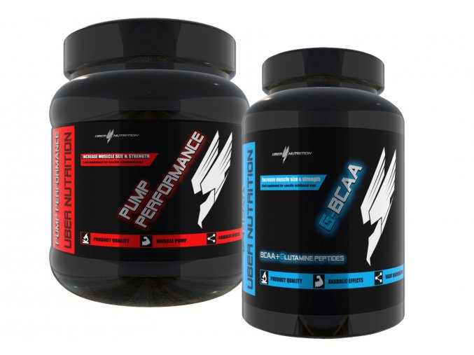 Pump performance 325g + G-bcaa 120kaps