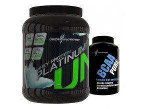 Whey protein Platinum1 + BCAA