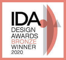 IDA design award 2020 Bronze winner