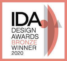 IDA design award 2020 Bronze winner