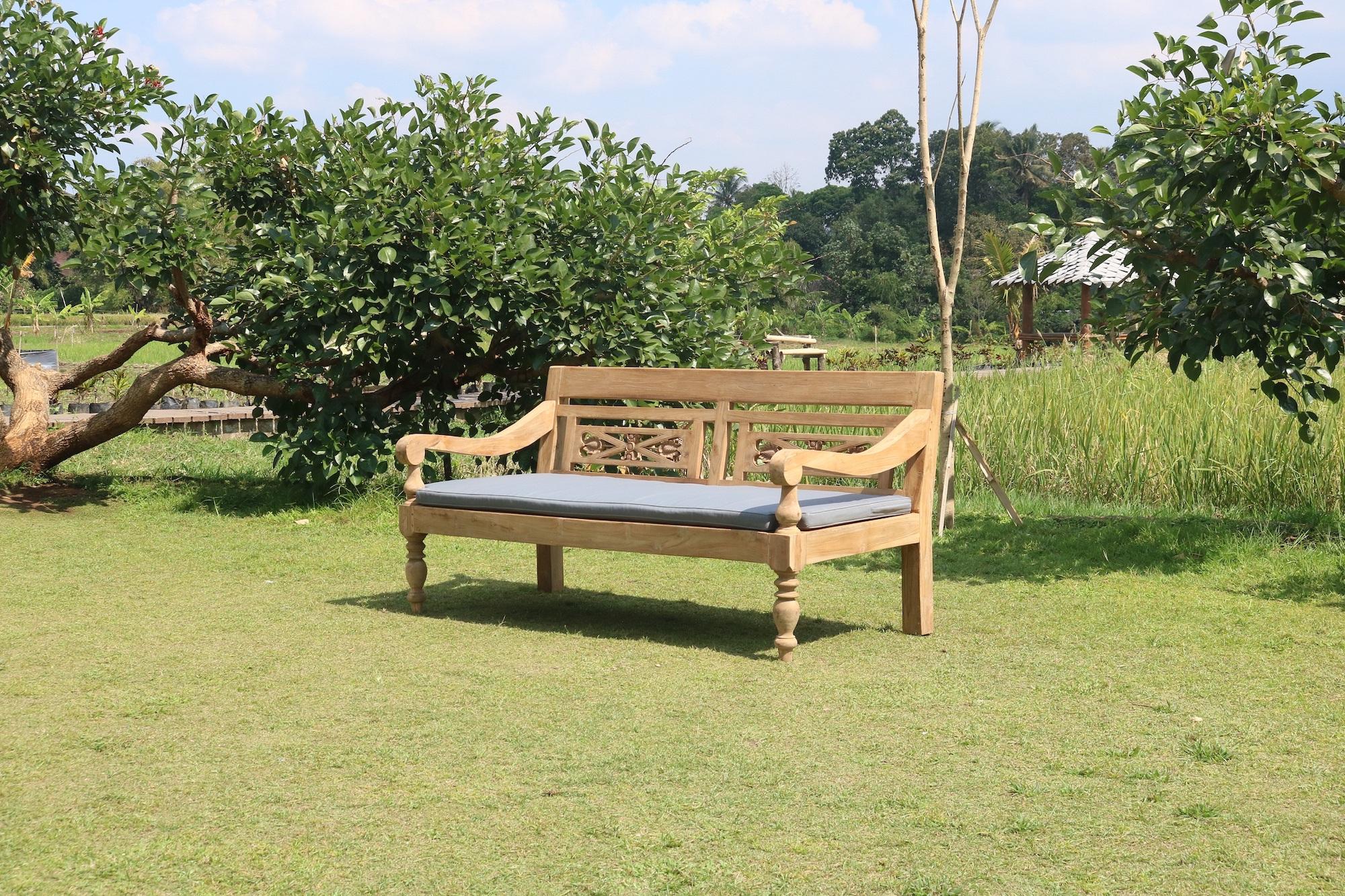 Teakové lavice, zahradní nábytek