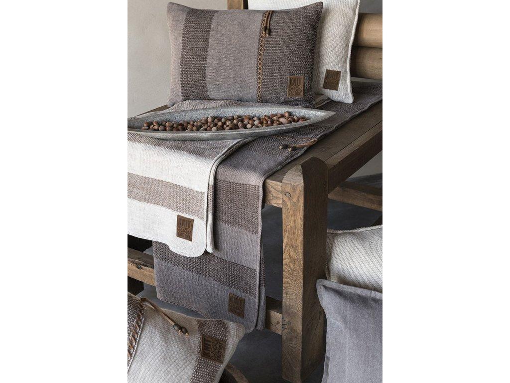 roxx cushion 60x40 brown taupe 2004005 en G