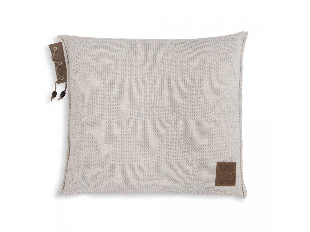 Knit Factory 1341212 Jay Kussen 50x50 beige (1)