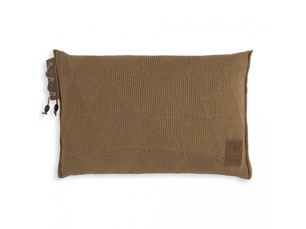 Knit Factory 1341320 Jay Kussen 60x40 new camel (1)