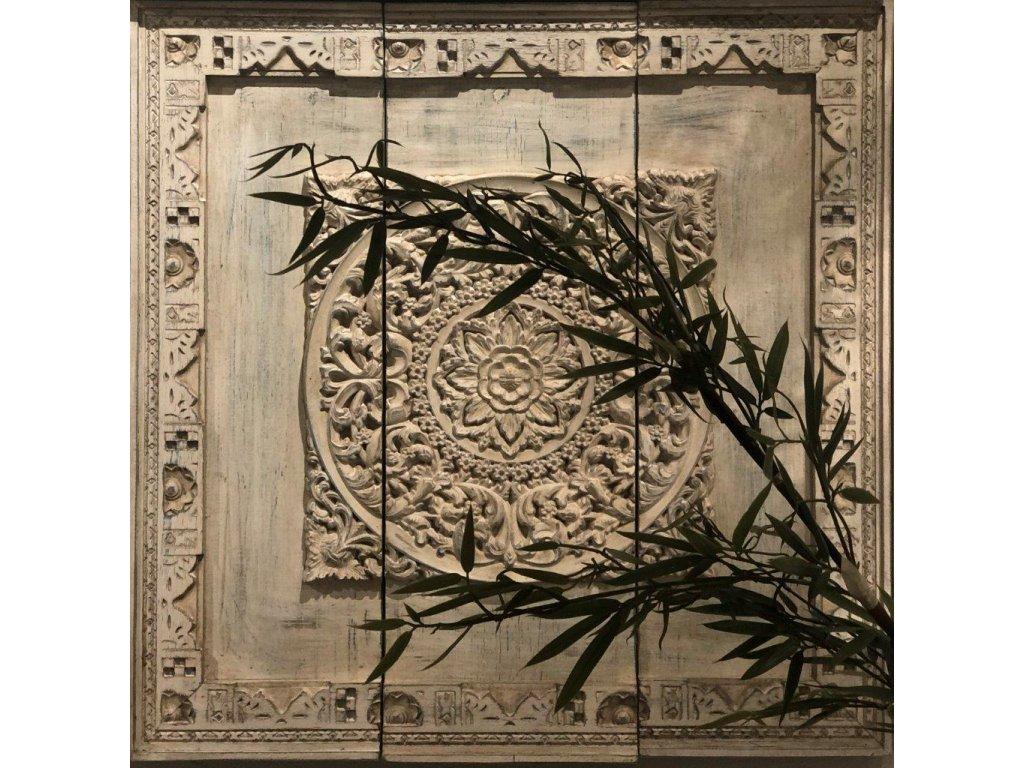 Dekorace na stěnu CYRUS Antik white