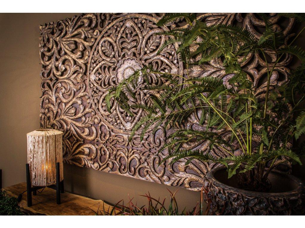 dekorační panel na stěnu TYMON gold antik