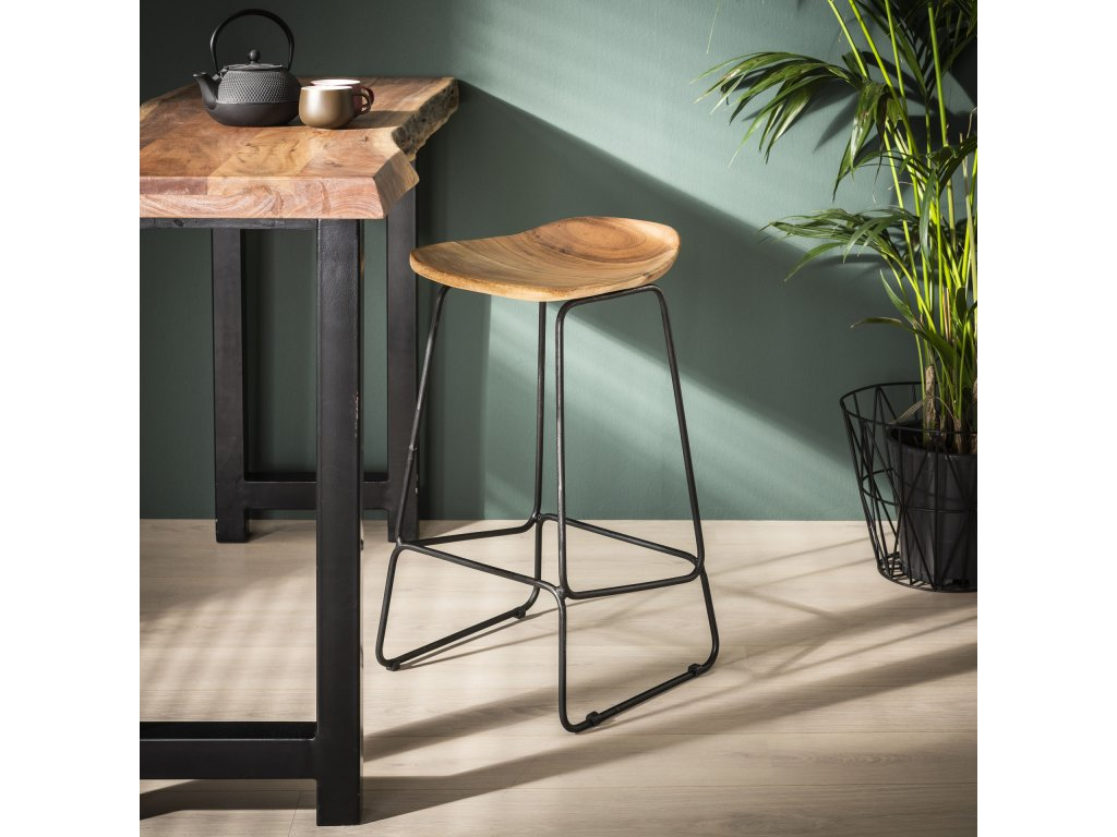 barová židle WOOD ERGO