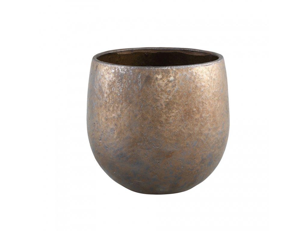 květináč TYLA Low  vel. M-  keramika
