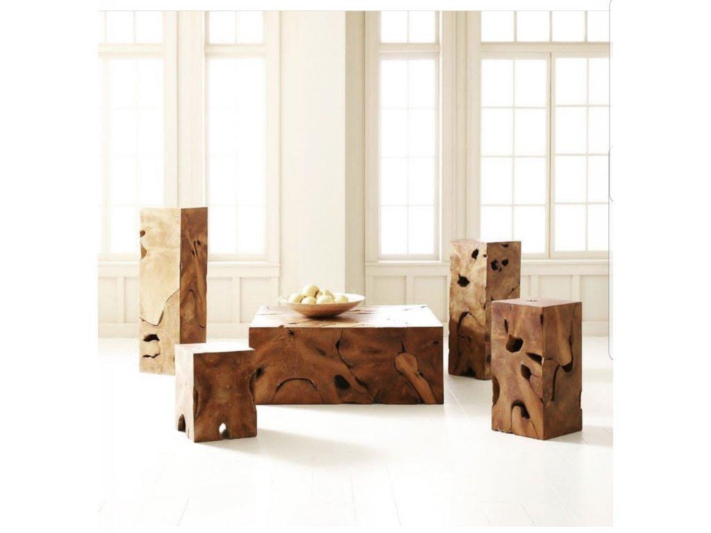 teakový stolek LEMPENG 2
