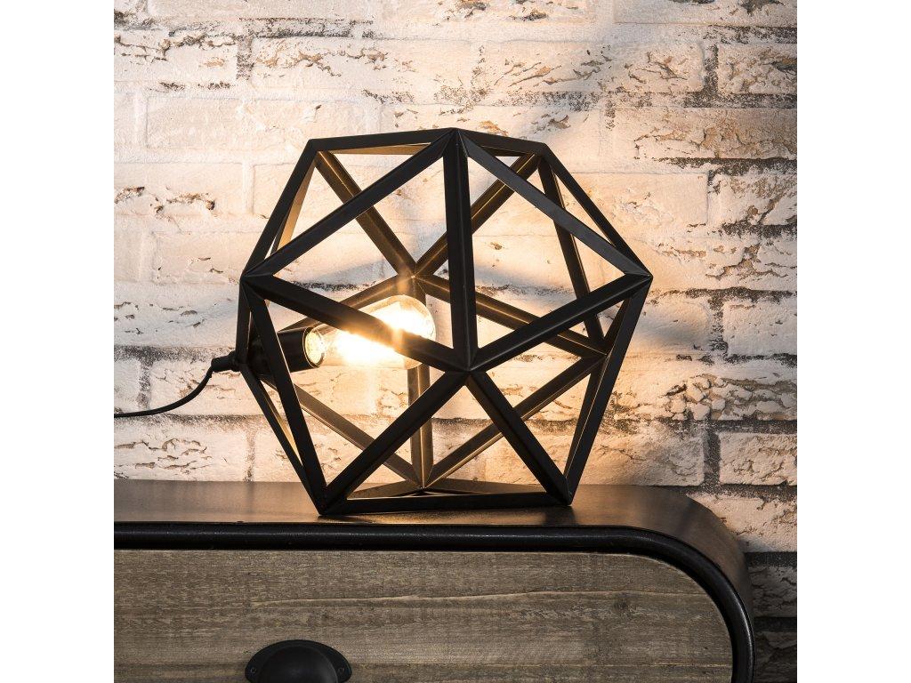 stolní  lampa - TRIANGLE - kov