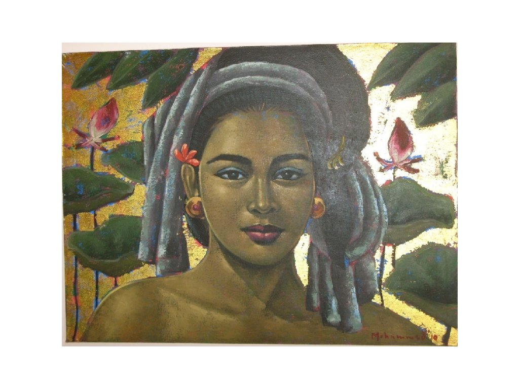olej na plátně 80 x 60cm
