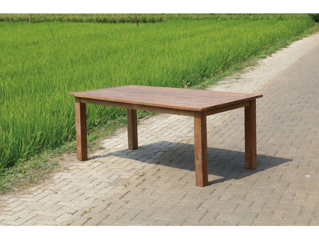 teakový stůl DENGLEK