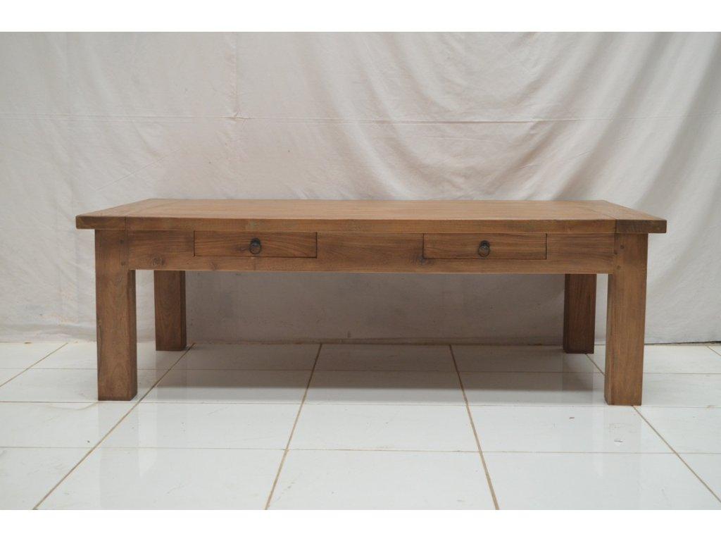 teakový konferenční stolek DENKLEG