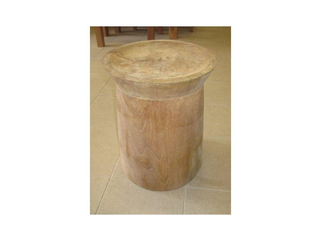 teakový stolek KMEN MINIMALIST