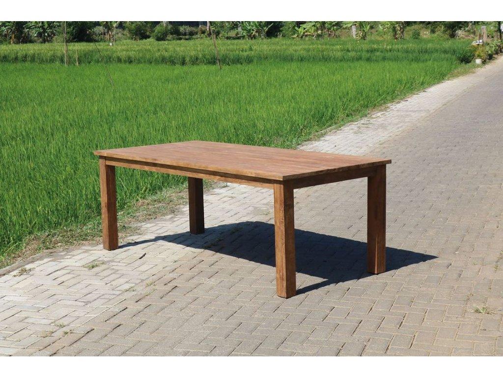 teakový stůl KASAR