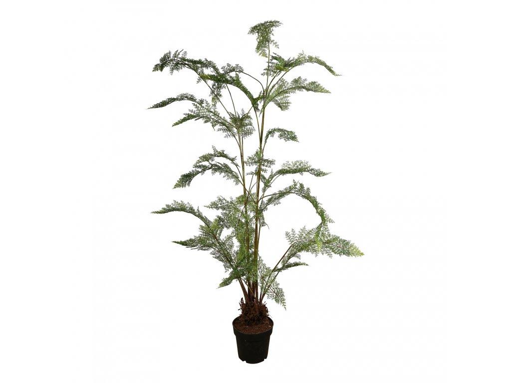 umělý strom - kapradina  v květináči vel. XL