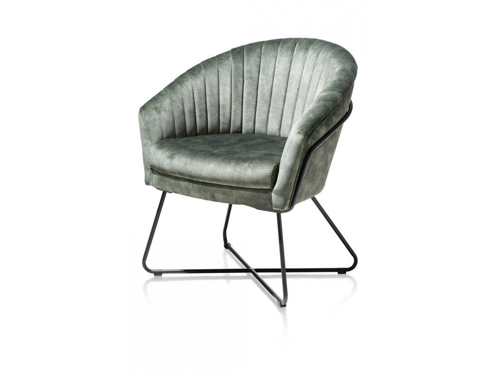 hen cayenne green fauteuil persp