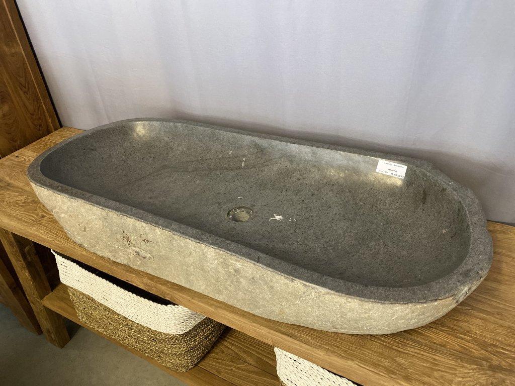 umyvadlo - šedý kámen
