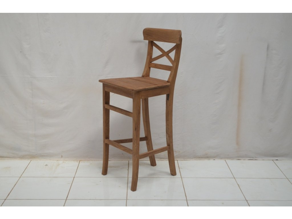 teaková barová židle Marioto