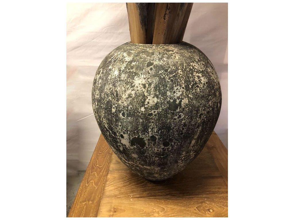 keramická váza ROUND