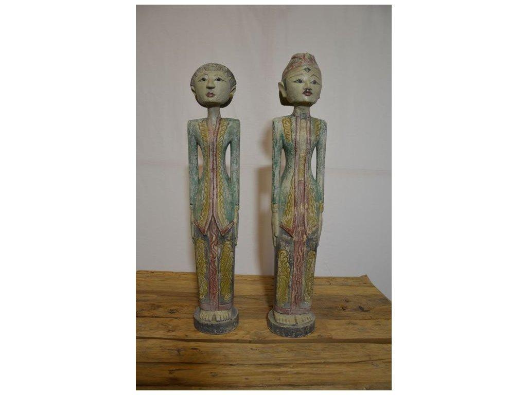 sochy stojící BRONYO