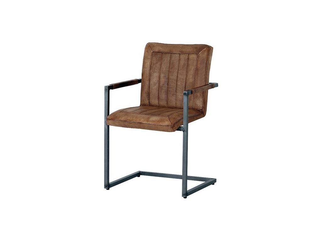 kožená židle ILC - 07