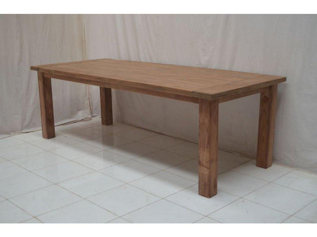teakový stůl DENGKLEH THICK