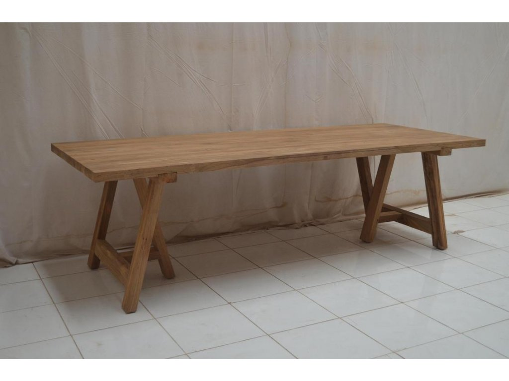teakový zahradní stůl MADURA 250x100, různé