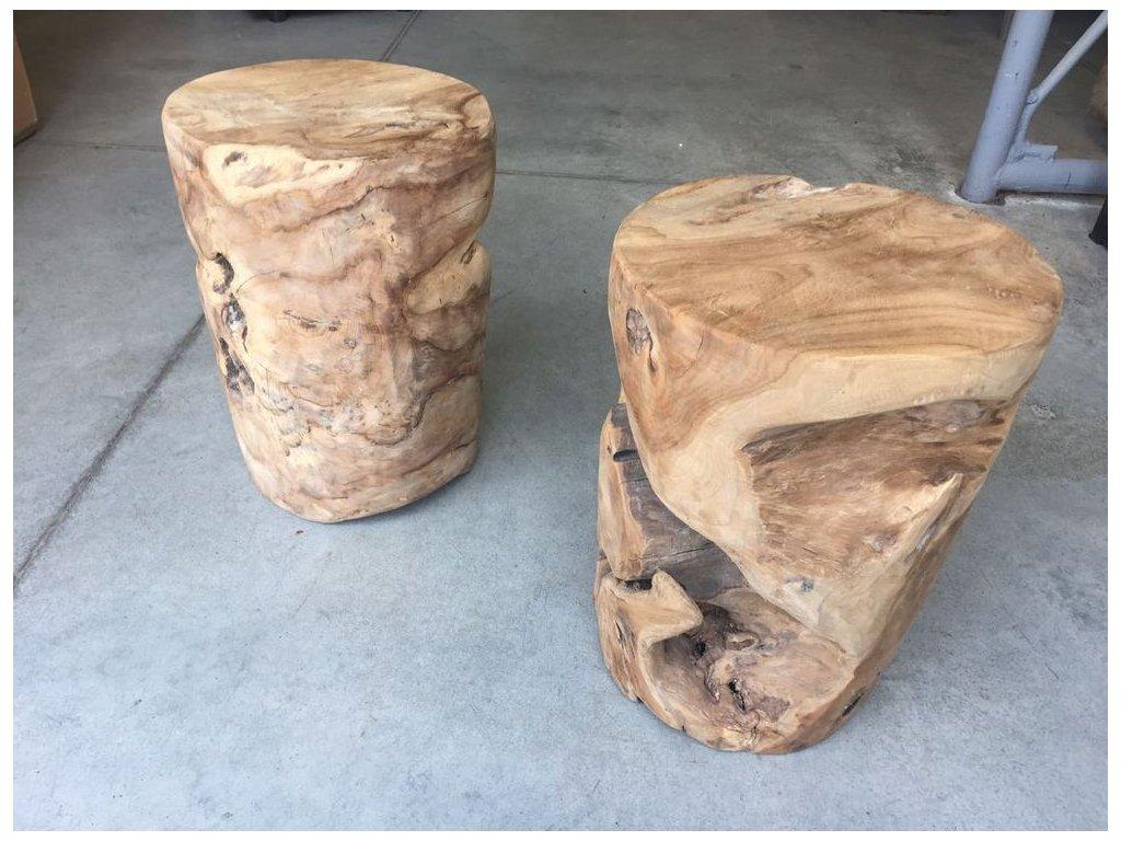 teakový stolek VÁLEC