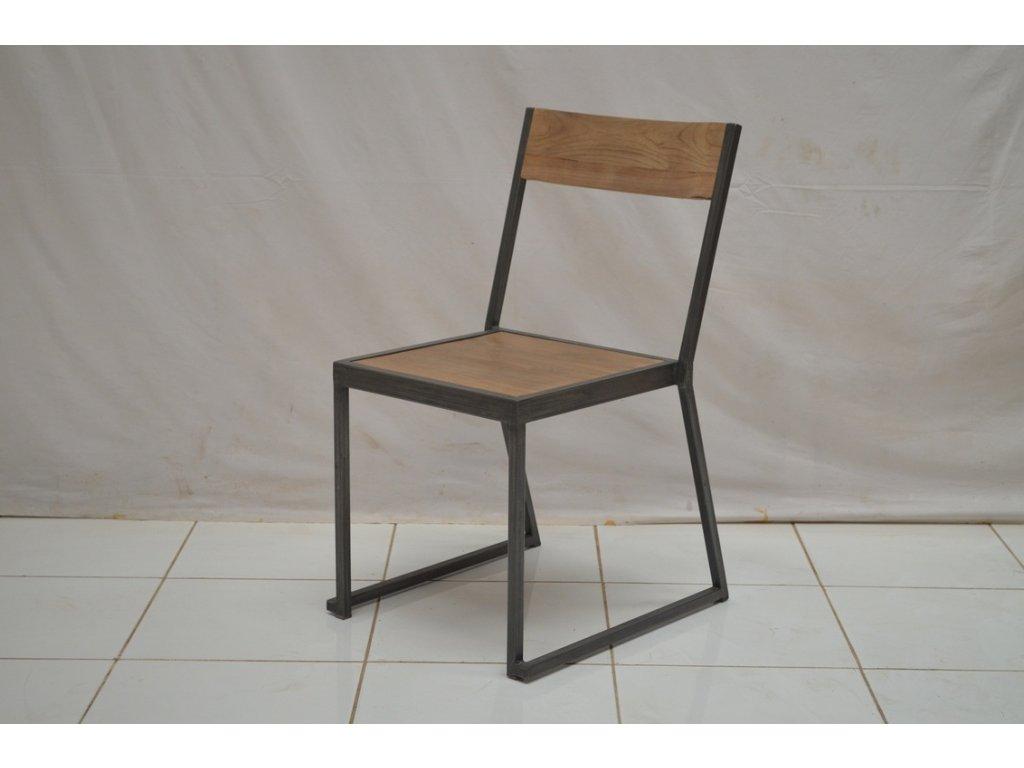 teaková židle INDUSTRIAL