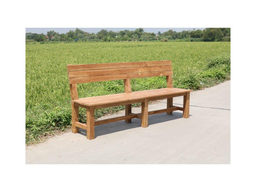 teaková zahradní lavice SANDARAN