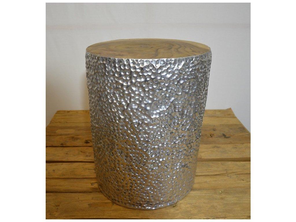 stolek aluminium válec