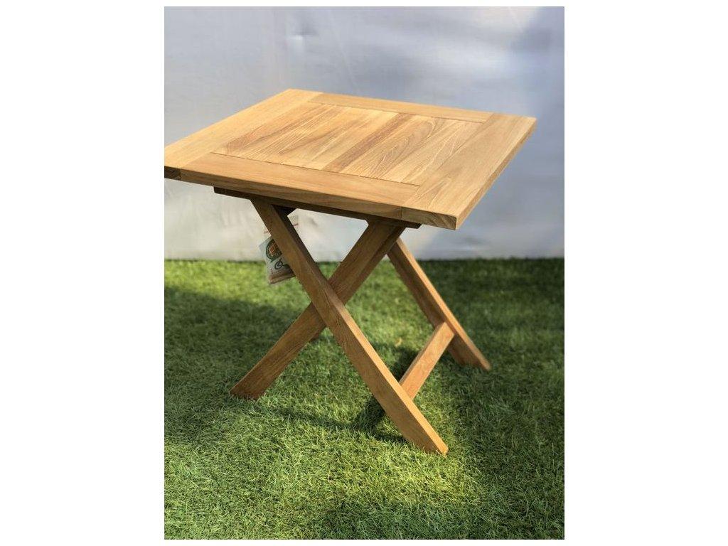 teakový piknikový stolek Bolero