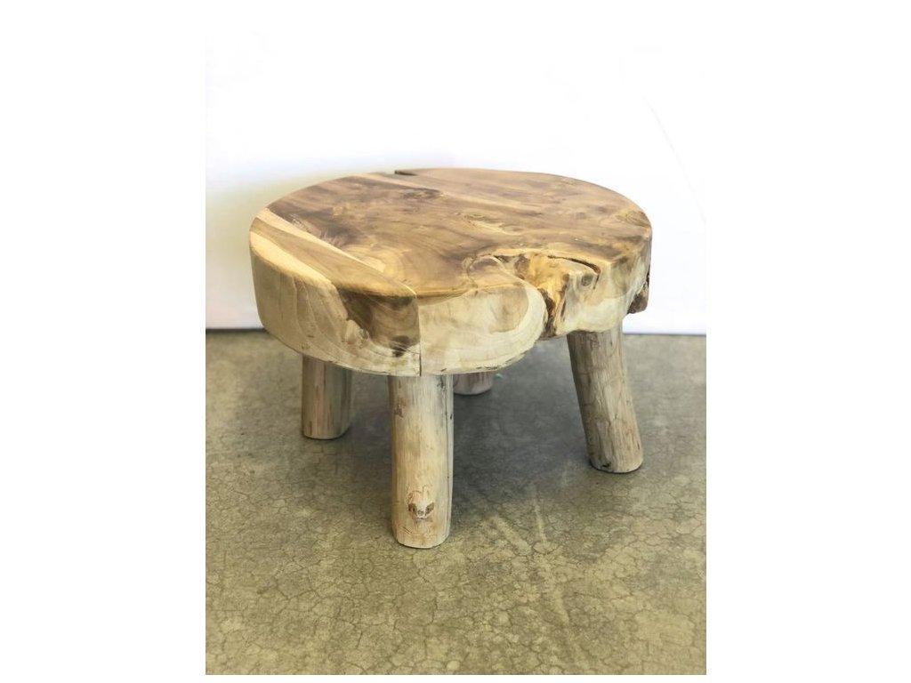 teakový stoleček MASIV