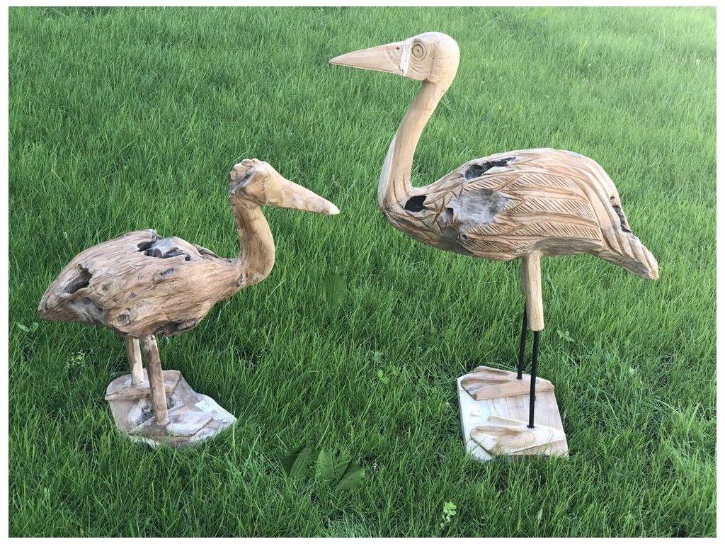 dekorace pták BANGO