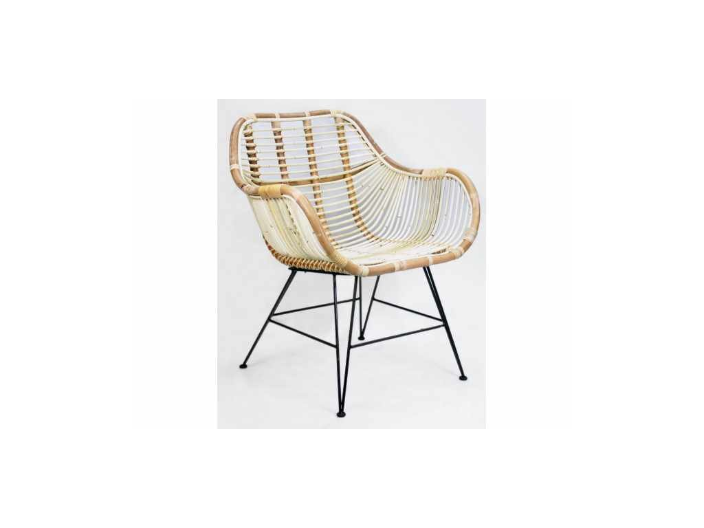 židle ratanová BLOND
