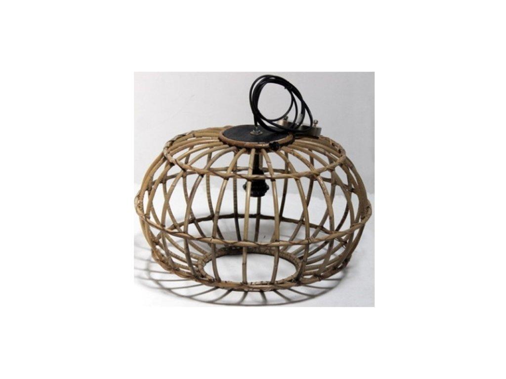 závěsná lampa kulatá RATAN