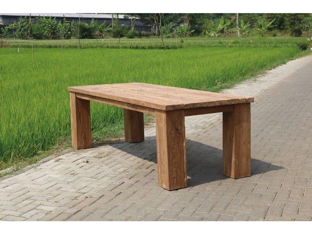 teakový stůl ROBUST