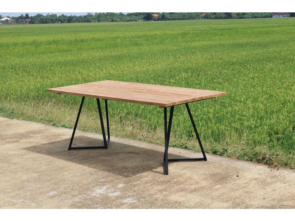 teakový stůl BROKLYN 200x100