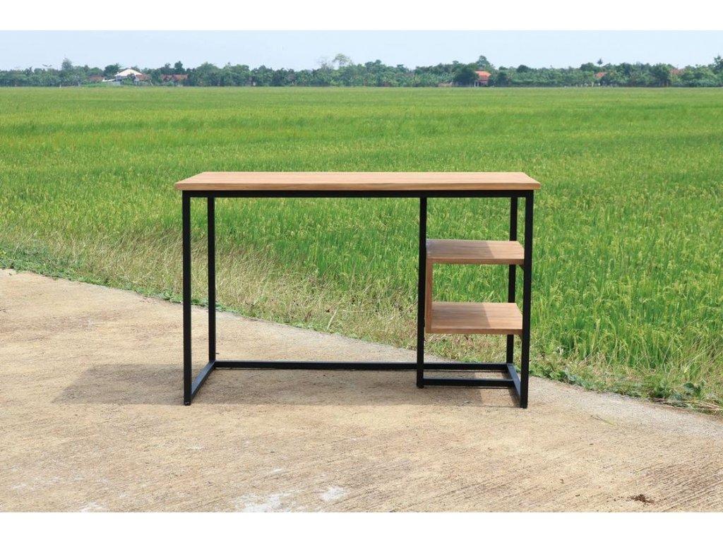 teakový pracovní stůl BROKLYN 125x65cm