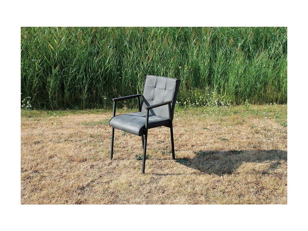 kožená židle DEBBIE