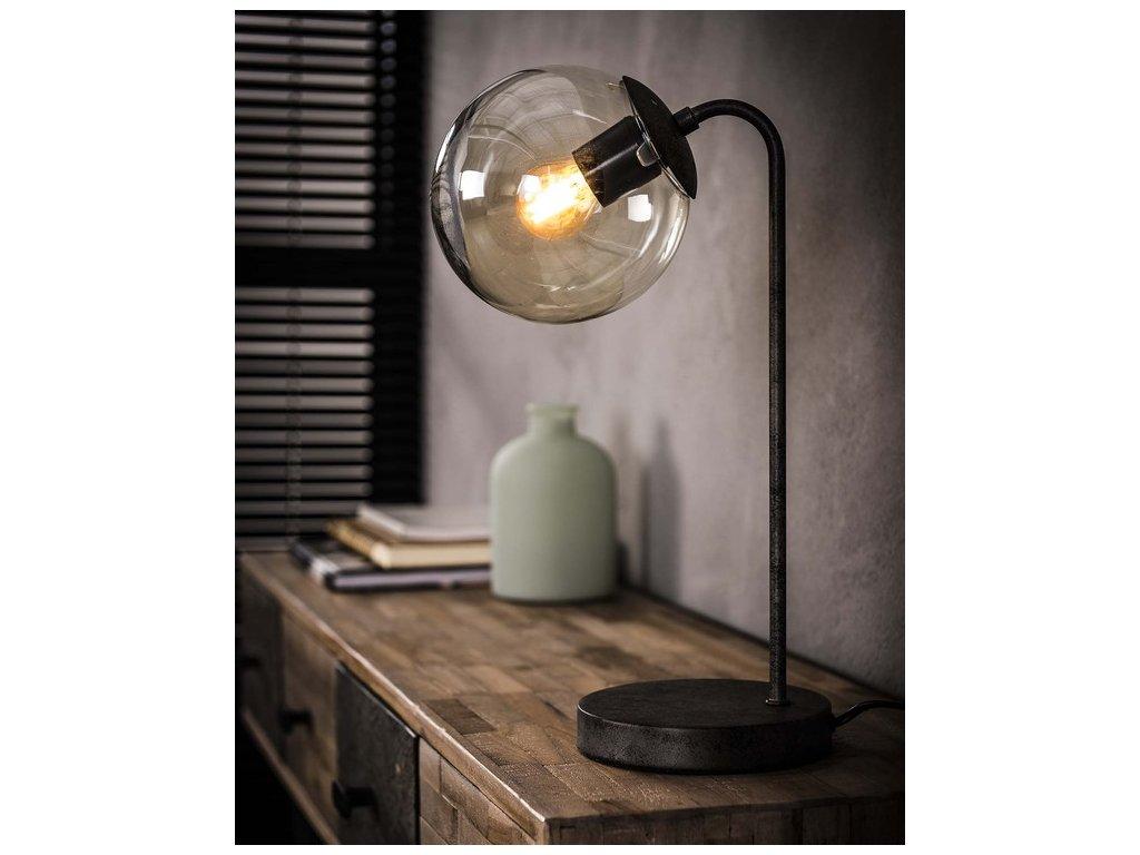 stolní lampa industriální SPHERE