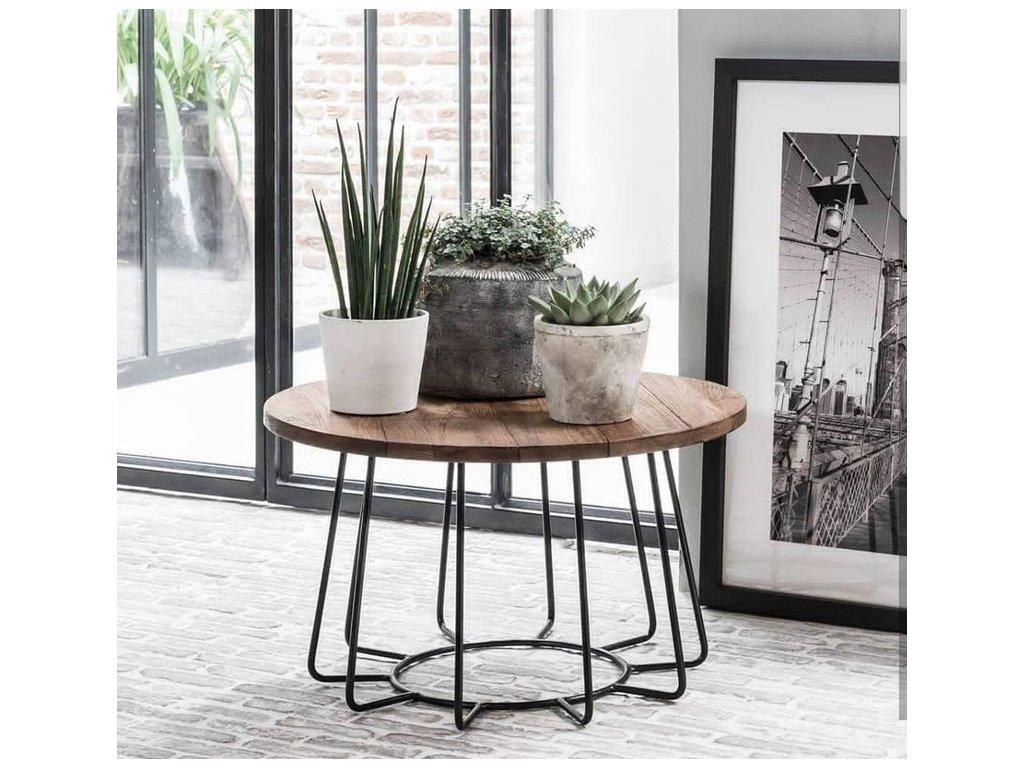 kulatý stolek Bundar