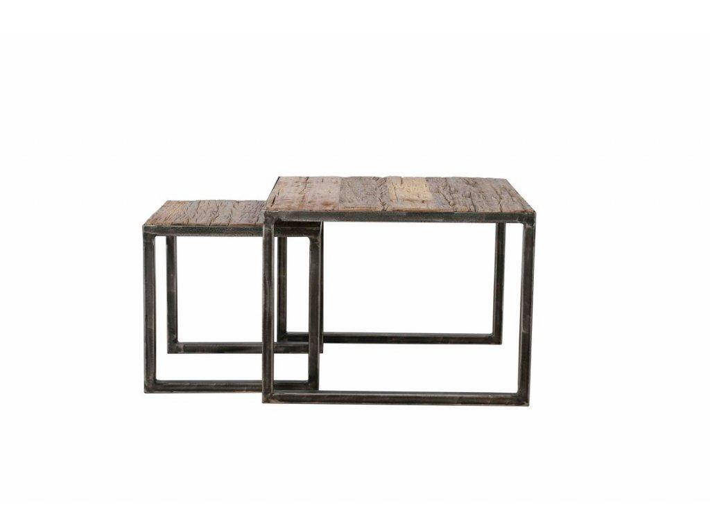 konferenční stolek Robust sada malá 2ks